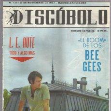 Revistas de música: DISCOBOLO 136 (PROCEDE DE ENCUADERNACION Y PARTE SUPERIOR ALGO GUILLOTINADO). Lote 209709362