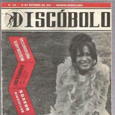 Revistas de música: DISCOBOLO 134 (PROCEDE DE ENCUADERNACION Y PARTE SUPERIOR ALGO GUILLOTINADO). Lote 209709835