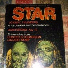 Revistas de música: STAR - COMIX Y PRENSA MARGINAL - Nº 46 - MENSUAL - ABRIL 1979 COMPARTIR LOTE. Lote 209765577