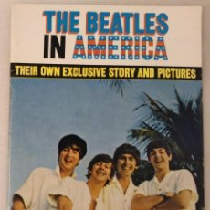 Revistas de música: REVISTA ''THE BEATLES IN AMERICA'' (1964). Lote 106107559