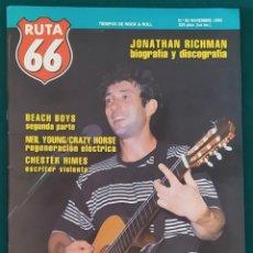 Revistas de música: REVISTA RUTA 66 Nº 56. PRÁCTICAMENTE NUEVA. Lote 210185352