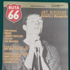 Revistas de música: REVISTA RUTA 66 Nº 57. PRÁCTICAMENTE NUEVA. Lote 210185425