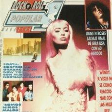 Revistas de música: POPULAR 1 - SEPTIEMBRE 1991. Lote 210222182