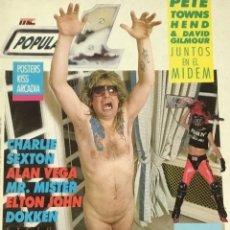 Revistas de música: POPULAR 1 - ABRIL 1986. Lote 210222311
