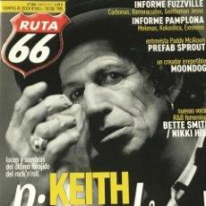 Revistas de música: RUTA 66 - NUMERO 368. Lote 210223162