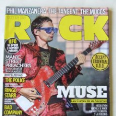 Revistas de música: THIS IS ROCK 131 BEATLES ROLLING STONES PHIL MANZANERA THE POLICE THE MUGGS MUSE BAD COMPANY ABEL FR. Lote 210274432
