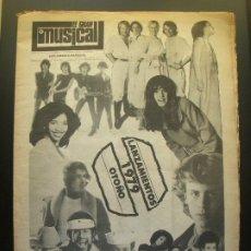 Revistas de música: EL GRAN MUSICAL ESPECIAL OTOÑO 1979 CAMILO SUPERTRAMP DIRE STRAITS BEATLES PEDRO MARIN TEQUILA. Lote 210566265