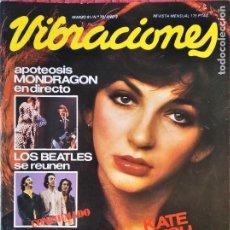 Revistas de música: VIBRACIONES Nº 78 D 1981- KATE BUSH- THE CLASH- BEATLES- MOTORHEAD- DEAD KENNEDYS- SIOUXSIE & THE BA. Lote 210588351