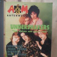 Revistas de música: ASTURMUSIC:NUM.27- LOQUILLO (ENTREVISTA EXCLUSIVA)-JUAN PERRO-LOS SUAVES-UNDERSHAKERS. Lote 210603478