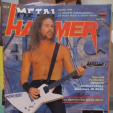 Magazines de musique: METAL HAMMER:N.9-METALLICA-LED ZEPPELIN-DEEP PURPLE-ÑU-SANGRE AZUL-SLAYER-ETC.... Lote 210607560