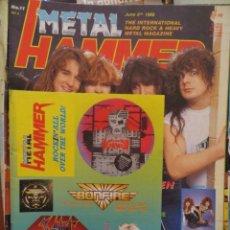 Revistas de música: METAL HAMMER:N.11-MEGADETH-ALICE COOPER-WENDY O WILLIAMS(ENGLISH MAG). Lote 210607686