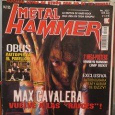 Riviste di musica: METAL HAMMER:N.155-SOULFLY-ALICE COOPER-HAMMERFALL-SLAYER-OBUS-ETC... Lote 210690584