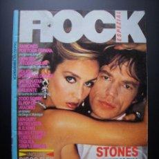 Revistas de música: ROCK ESPEZIAL Nº 3 NOVIEMBRE 1981 STONES RAMONES POLICE GENESIS DURAN DURAN TINO CASAL THE CURE. Lote 210781529