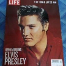 Revistas de música: ELVIS PRESLEY. PRECIOSA REVISTA LIFE. 2018. Lote 210978084