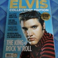 Revistas de música: ELVIS PRESLEY. PRECIOSA REVISTA VINTAGE ROCK PRESENTS ELVIS COLLECTORS EDITION. 132 PAGS.. Lote 210978326