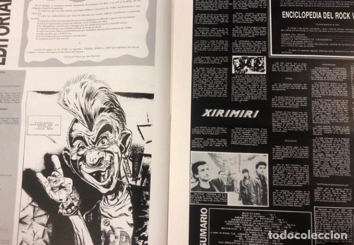 Revistas de música: EL TUBO N° 2 (JULIO '89). BARRICADA, DOCTOR DESEO, MCD, DELIRIUM TRMENS, LOS BICHOS, LOQUILLO LISTA - Foto 2 - 211629346