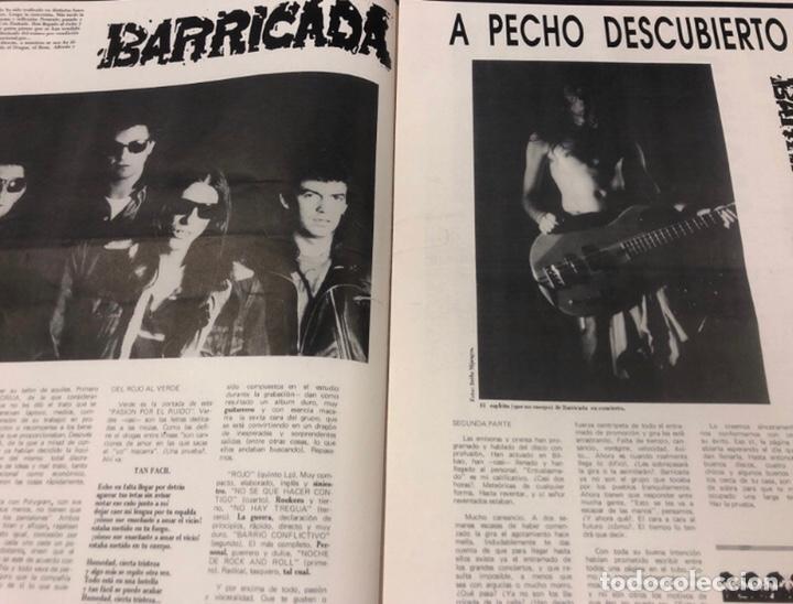 Revistas de música: EL TUBO N° 2 (JULIO '89). BARRICADA, DOCTOR DESEO, MCD, DELIRIUM TRMENS, LOS BICHOS, LOQUILLO LISTA - Foto 3 - 211629346
