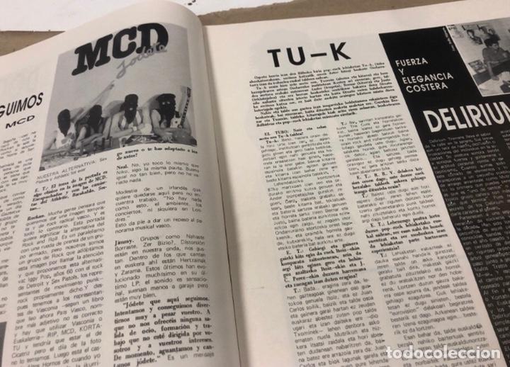 Revistas de música: EL TUBO N° 2 (JULIO '89). BARRICADA, DOCTOR DESEO, MCD, DELIRIUM TRMENS, LOS BICHOS, LOQUILLO LISTA - Foto 5 - 211629346