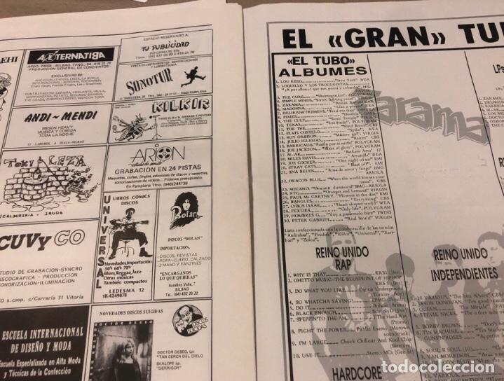 Revistas de música: EL TUBO N° 2 (JULIO '89). BARRICADA, DOCTOR DESEO, MCD, DELIRIUM TRMENS, LOS BICHOS, LOQUILLO LISTA - Foto 6 - 211629346