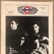 Revistas de música: EL TUBO N° 2 (JULIO '89). BARRICADA, DOCTOR DESEO, MCD, DELIRIUM TRMENS, LOS BICHOS, LOQUILLO LISTA. Lote 211629346