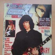 Revistas de música: POPULAR 1 NUM 239. BILLY IDOL, GARY MOORE. GUNS N ROSES, OZZY OSBOURNE, SINIESTRO TOTAL, EPISTOLE.. Lote 211656009