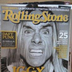 Revistas de música: ROLLING STONE:N.164-IGGY POP-DAFT PUNK-KRAFTWERK-ETC...... Lote 221932783