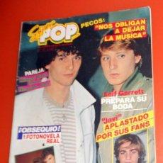 Magazines de musique: REVISTA SUPER POP Nº106 ANTIGUA - NUEVA IMAGEN MECANO. PÓSTER TEQUILA PEDRO - LOS PECOS -.1982. Lote 211722398