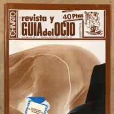 Revistas de música: CHIVATO N° 31 (1982). REVISTA Y GUÍA DEL OCIO BILBAO; CONTRAPORTADA CARTEL CONCIERTO MECANO, MAMÁ,... Lote 212311505