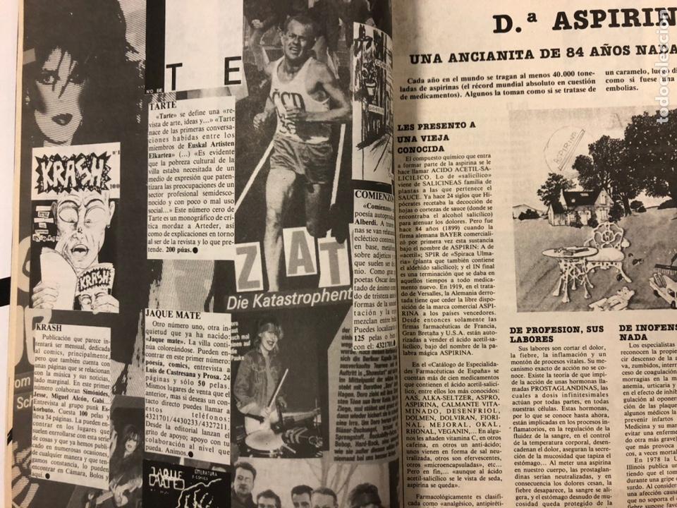 Revistas de música: CHIVATO N° 44 (1983) REVISTA Y GUÍA DEL OCIO DE BILBAO; LOLE Y MANUEL, ALMODÓVAR Y MCNAMARA,.. - Foto 4 - 212375700