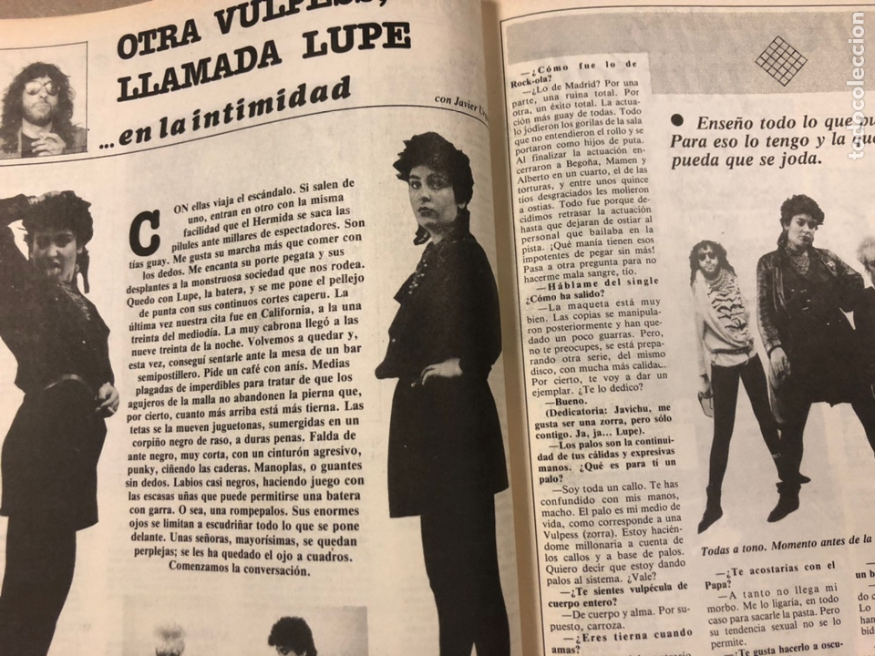 Revistas de música: CHIVATO N° 44 (1983) REVISTA Y GUÍA DEL OCIO DE BILBAO; LOLE Y MANUEL, ALMODÓVAR Y MCNAMARA,.. - Foto 5 - 212375700