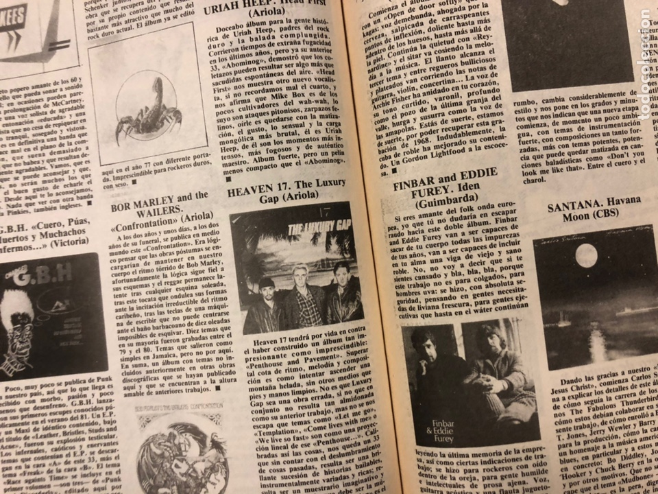 Revistas de música: CHIVATO N° 44 (1983) REVISTA Y GUÍA DEL OCIO DE BILBAO; LOLE Y MANUEL, ALMODÓVAR Y MCNAMARA,.. - Foto 8 - 212375700