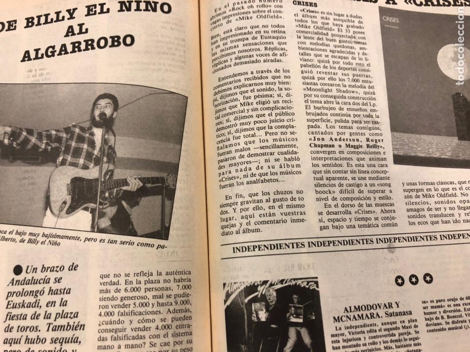 Revistas de música: CHIVATO N° 44 (1983) REVISTA Y GUÍA DEL OCIO DE BILBAO; LOLE Y MANUEL, ALMODÓVAR Y MCNAMARA,.. - Foto 9 - 212375700