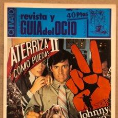 Riviste di musica: CHIVATO Nº 38 (1983). REVISTA DEL OCIO DE BILBAO. MOVIDA BILBAÍNA, VULPES, AVIADOR DRO,.... Lote 212380102