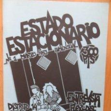 Revistas de música: ESTADO ESTACIONARIO: NUM.1: FANGORIA-DISTRITO 14-MIGUEL MENA-ETC..(FANZINE) RARO. Lote 212380817