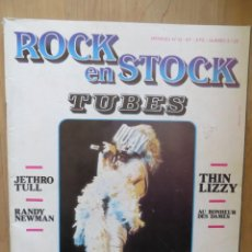 Revistas de música: ROCK EN STOCK:N.13-TUBES-JETHRO TULL-THIN LIZZY-QUEEN-ETC...(FRENCH MAG) 1978. Lote 212394375