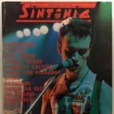 Revistas de música: REVISTA SINTONÍA N°5 (1995). CICATRIZ, HERTZAINAK, GABINETE CALIGARI, POSTER DUNCAN DHU. Lote 212431122
