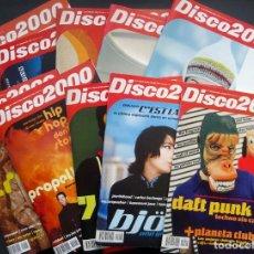 Revistas de música: DISCO 2000 REVISTAS Nº 1-10 (2ª ETAPA) COLECCIÓN COMPLETA. MÚSICA ELECTRÓNICA, DANCE, TECNO. Lote 237489500