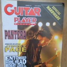 Revistas de música: GUITAR PLAYER:N.66-MICHAEL SCHENKER-JIMMY PAGE-MACHINE HEAD. Lote 212645597