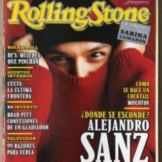Revistas de música: ROLLING STONE N° 1 (1999). LOQUILLO, SABINA, CALAMARO, ALEJANDRO SANZ,.... Lote 213577212