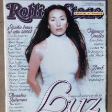 Revistas de música: ROLLING STONE N° 3 (2000). MEJORES FOTOS HISTORIA DEL ROCK, LUZ CASAL, ENRIQUE URQUIJO,.... Lote 213577702