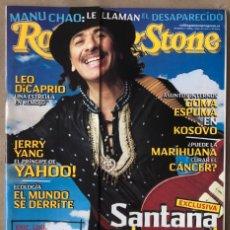 Revistas de música: ROLLING STONE N° 6 (2000). PINK FLOYD, LOU REED, SMASHING PUMPKINS, SANTANA, MANU CHAO,... Lote 213578428