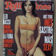 Revistas de música: ROLLING STONE N° 10 (2000). INCLUYE ÁLBUM ERÓRTICO DE ROLLING STONE.. Lote 213579503