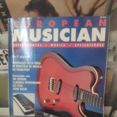 Revistas de música: EUROPEAN MUSICIAN 4/92. Lote 213616017