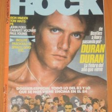 Revistas de música: ROCK ESPEZIAL #29 DURAN DURAN TOM WAITS ANA CURRA PAUL YOUNG PVP JOHN FOXX EVO REVISTA. Lote 214193842