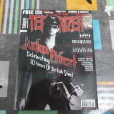 Revistas de música: TERRORIZER Nº 196, EN INGLES,JUDAS PRIEST, BAD MATA, BRUTAL TRUTH,TRIGGER THE BLOODSHED, EXODUS. Lote 214246605
