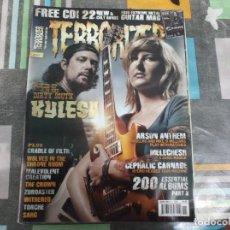 Revistas de música: TERRORIZER Nº 146,KYLESA,MELECHESH, 200 ALBUM,CEPHALIC CARNAGE,ARSON ANTHEM. Lote 214247780