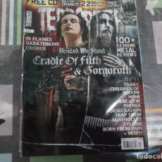 Revistas de música: TERRORIZER Nº 178, CRADLE OF FILTH &GORGOROTH, TAAKE,CHILDREN OF BODOM, NEMI, KREATOR,PHOBIA,. Lote 214250023