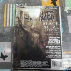 Revistas de música: TERRORIZER Nº 128, BLACK METAL SPECIAL, DIMEBAG DARRELL 1966-2004, DISSECTION,. Lote 214250196