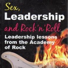 Revistas de música: VESIV LIBRO SEX LEADERSHIP AND ROCK 'N'ROLL DE PETER COOK. Lote 214396066