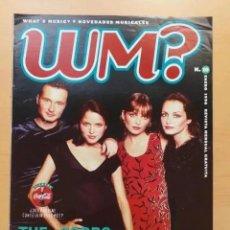 Revistas de música: WM ? WHAT´S MUSIC ? NUM 10 CORSS, REVOLVER, TAHURES ZURDOS, MICHAEL BOLTON, AC DC, MANA,. Lote 214399856